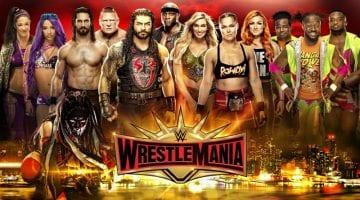 Wrestlemania 35 Poster 2