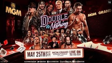 Aew Double Nothing 2019 Poster