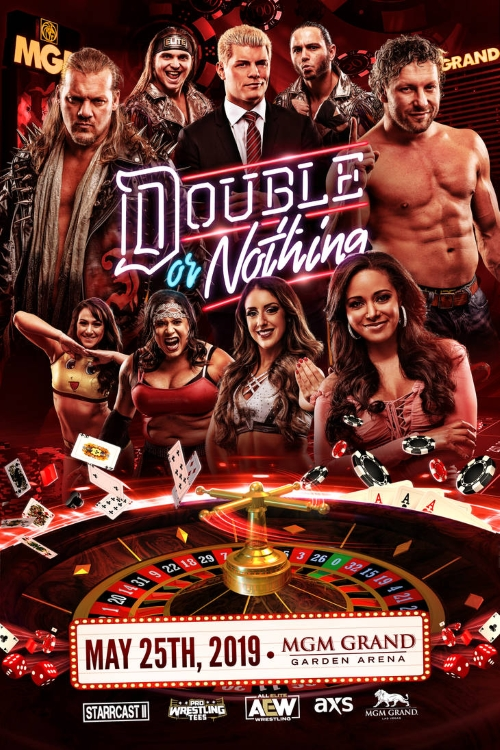 Aew Double Nothing Poster 2