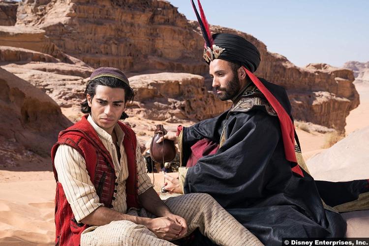 Aladdin 2019 Marwan Kenzari Jafar Mena Massoud