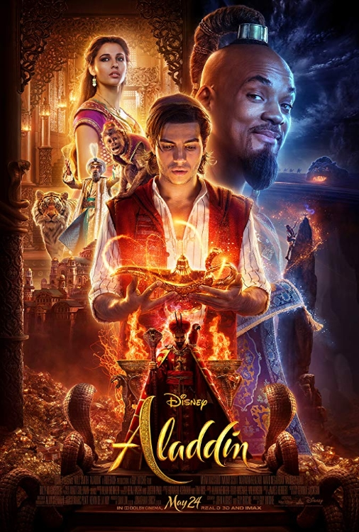 Aladdin 2019 Poster 2