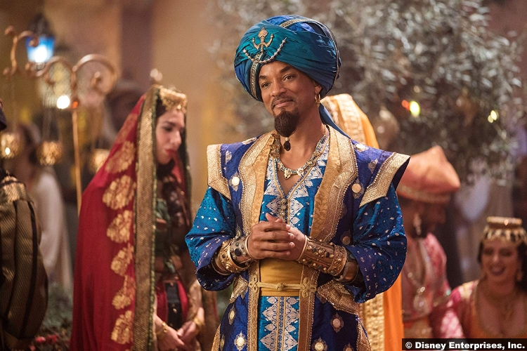 Aladdin 2019 Will Smith Genie
