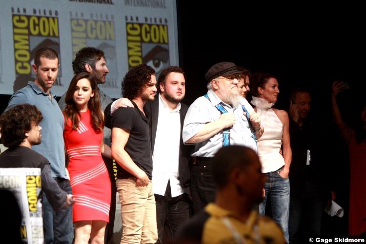 Game Thrones Cast 2013 George R R Martin