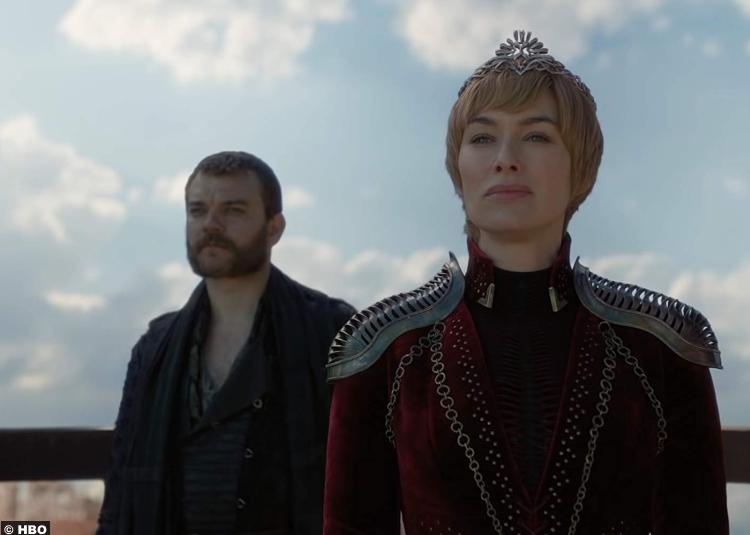 Game Thrones S08e04 Lena Headey Cersei Lannister Pilou Asbaek Euron Greyjoy 2