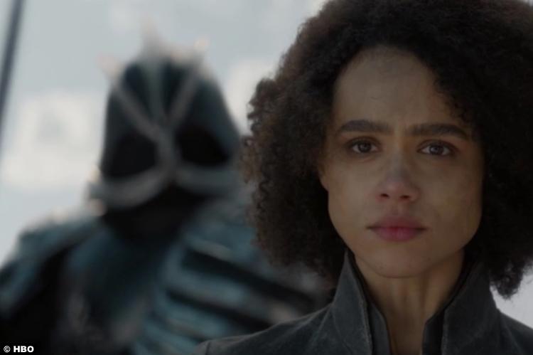 Game Thrones S08e04 Nathalie Emmanuel Missandei