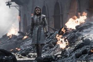 Game Thrones S08e05 Maisie Williams Arya Stark