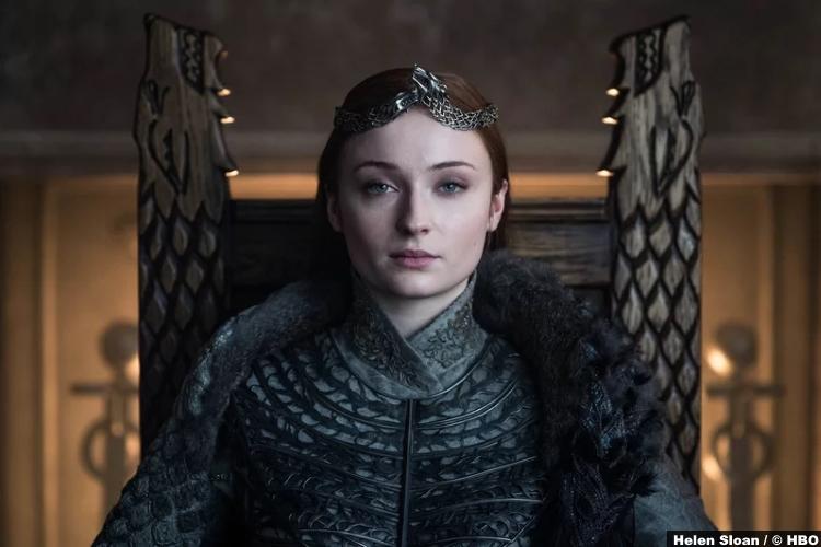 Game Thrones S08e06 Sophie Turner Sansa Stark