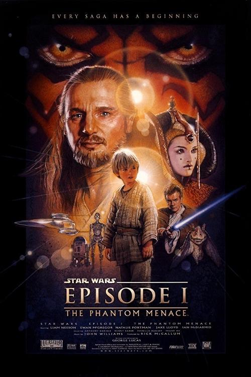 Star Wars Episode 1 Phantom Menace Poster 2
