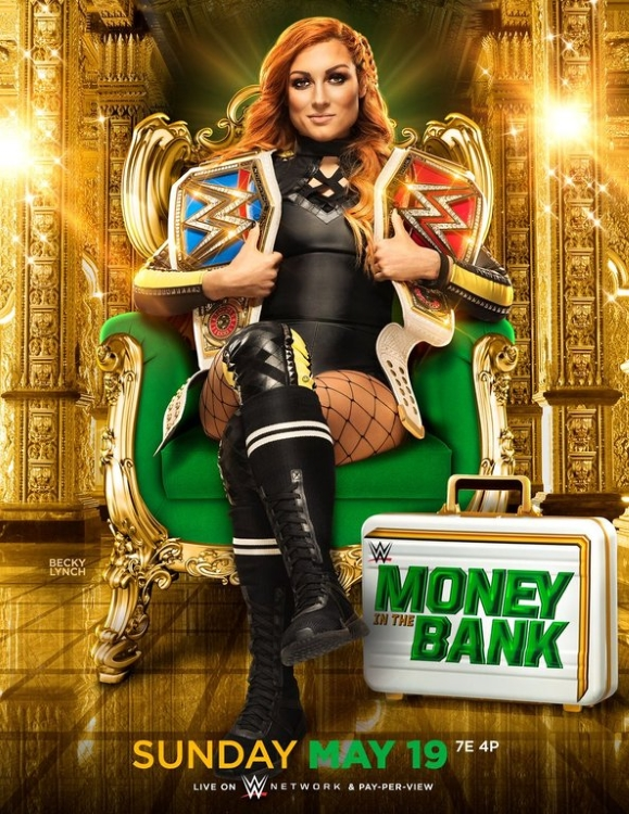 Wwe Money In The Bank 2019 Poster 2