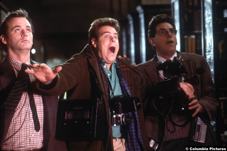 Ghostbusters 1984 Dan Aykroyd Dr Raymond Stantz Bill Murray Dr Peter Venkman Harold Ramis Dr Egon Spengler