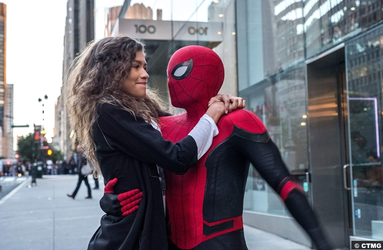Spider Man Far From Home Peter Parker Tom Holland Zendaya Michelle Williams Mj