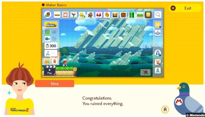 Super Mario Maker 2 3