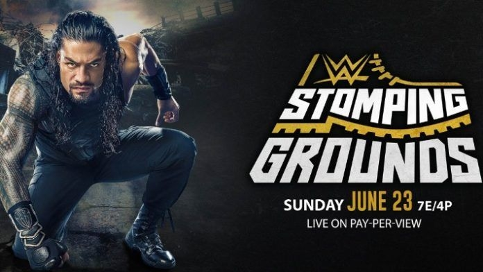 Wwe Stomping Ground 2019 Poster 2