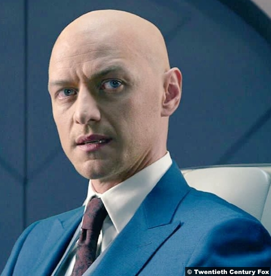 X Men James Mcavoy Professor Charles Xavier