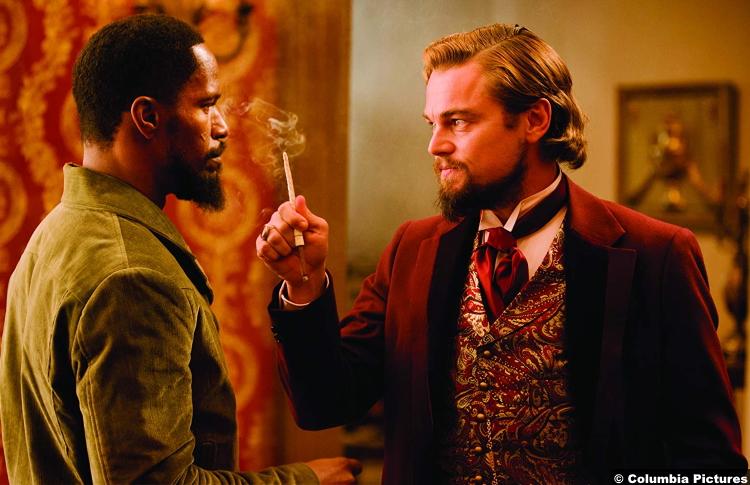 Django Unchained Jamie Foxx Leonardo Dicaprio