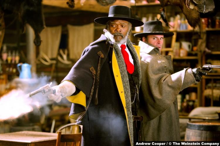 Hateful Eight Samuel L Jackson Walton Goggins