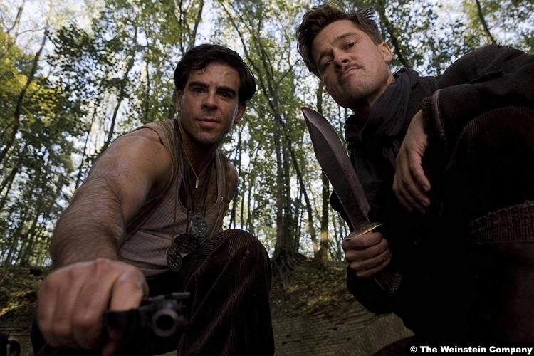 Inglouriousbasterds Brad Pitt Eli Roth
