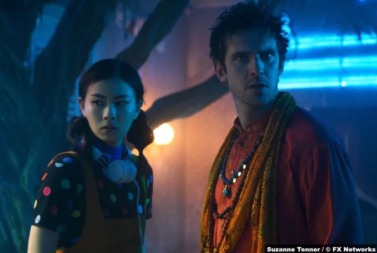 Legion S03e04 Lauren Tsai Switch Dan Stevens David Haller
