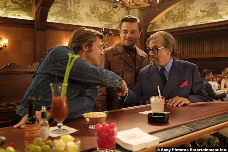 Once Upon Time Hollywood Brad Pitt Leonardo Dicaprio Al Pacino
