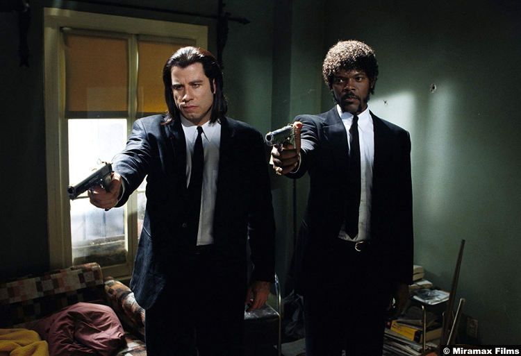 Pulp Fiction John Travolta Samuel L Jackson