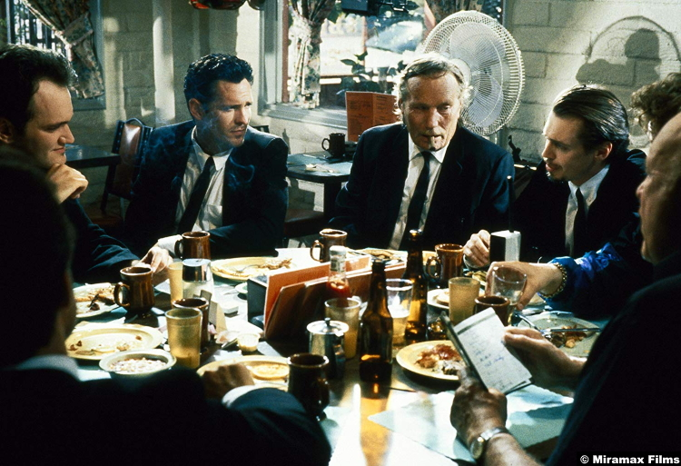 Reservoir Dogs Steve Buscemi Quentin Tarantino Michael Madsen Edward Bunker Lawrence Tierney