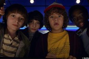 Stranger Things S2 Caleb Mclaughlin Finn Wolfhard Noah Schnapp Gaten Matarazzo Lucas Sinclair Mike Wheeler Will Byers Dustin Henderson 2