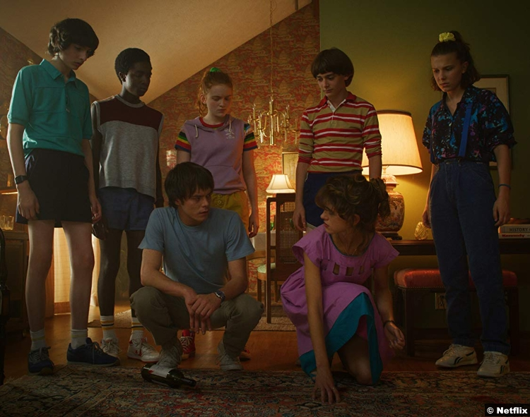 Stranger Things S3 Group