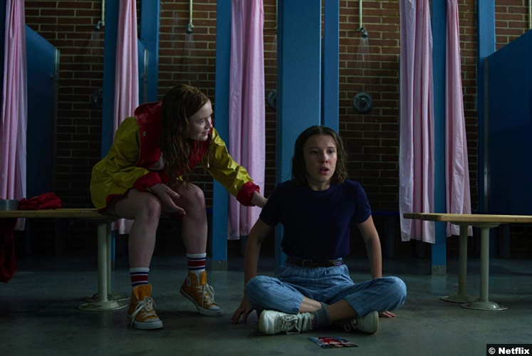Stranger Things S3 Sadie Sink Millie Bobby Brown Max Mayfield Eleven