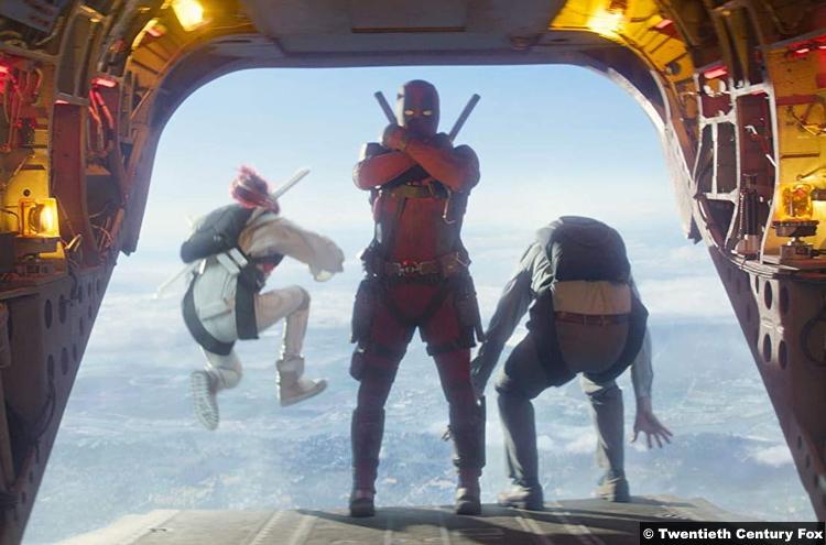 Deadpool 2 Ryan Reynolds Lewis Tan Rob Delaney