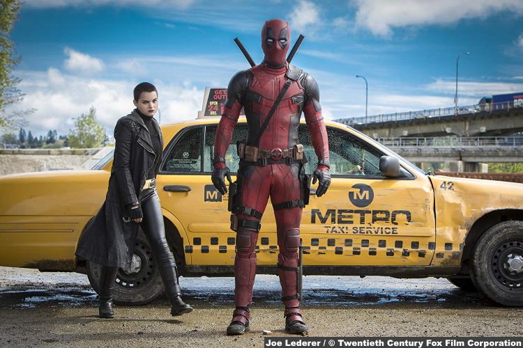 Deadpool Ryan Reynolds Brianna Hildebrand Negasonic Teenage Warhead