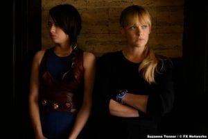 Legion S03e07 Amber Midthunder Kerry Loudermilk Rachel Keller Syd Barrett