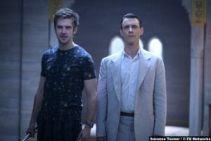 Legion S03e08 Dan Stevens David Haller Harry Lloyd Professor X Charles Xavier
