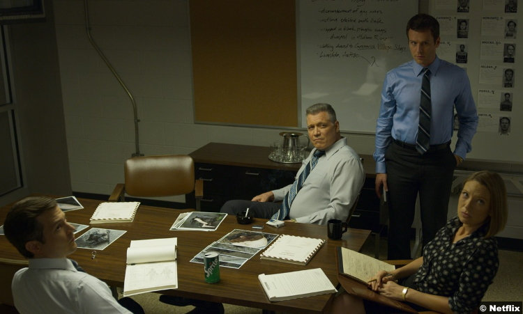 Mindhunter S02 Holt Mccallany Jonathan Groff Anna Torv