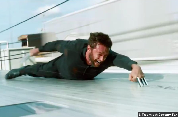 Wolverine Hugh Jackman Train