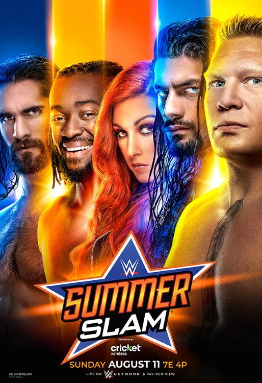 Wwe Summerslam 2019 Poster 3