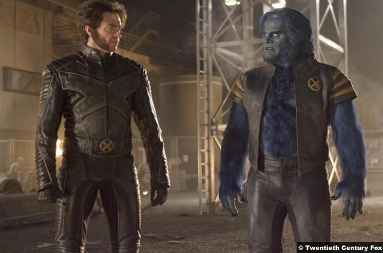X Men 3 Hugh Jackman Wolverine Kelsey Grammer Beast