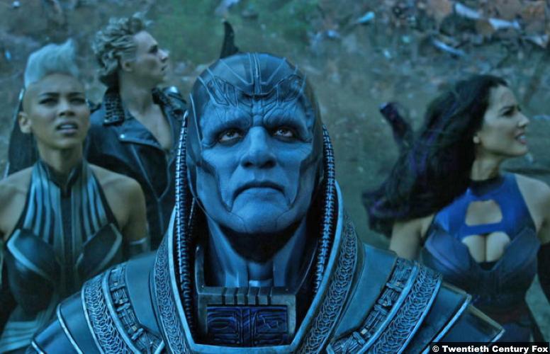 X Men Apocalypse Oscar Isaac Alexandra Shipp Storm Oliva Munn Psylocke Ben Hardy Angel