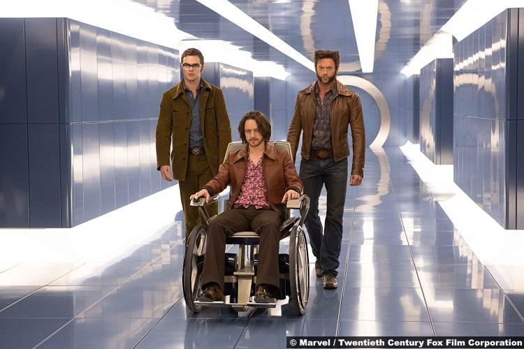 X Men Days Future Past James Mcavoy Professor Charles Xavier Nicholas Hoult Beast Wolverine Hugh Jackman