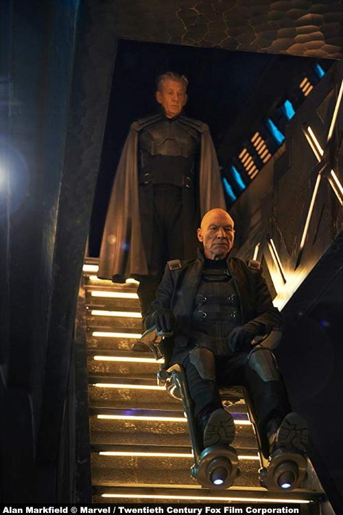 X Men Days Future Past Patrick Stewart Professor X Charles Xavier Ian Mckellen Magneto