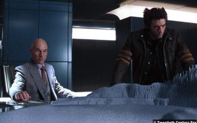 X Men Patrick Stewart Professor Xavier Hugh Jackman Wolverine