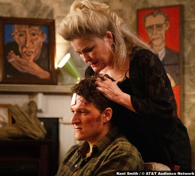 Mr Mercedes S03e02 Kate Mulgrew Alma Lane Gabriel Ebert Morris Bellamy