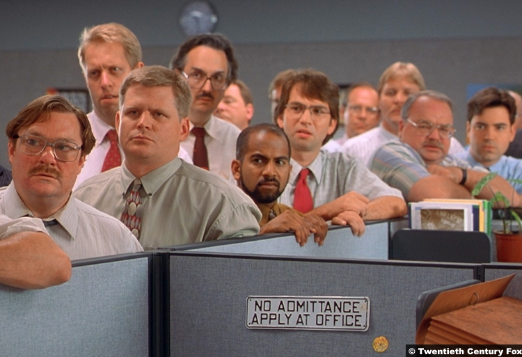 Office Space David Herman Ron Livingston Ajay Naidu Richard Riehle Stephen Root