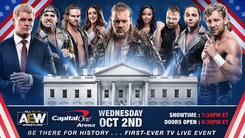 Aew Capital One Arena Debut