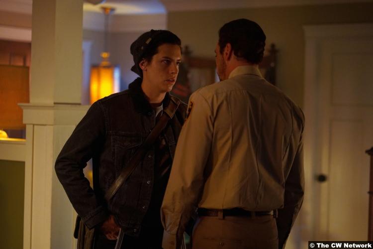 Riverdale S04e02 Cole Sprouse Jughead Skeet Ulrich Fp Jones