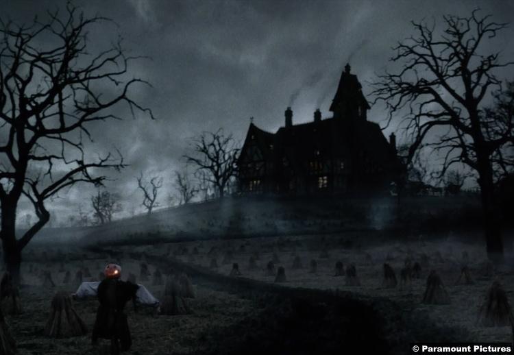Sleepy Hollow House Headless Horseman