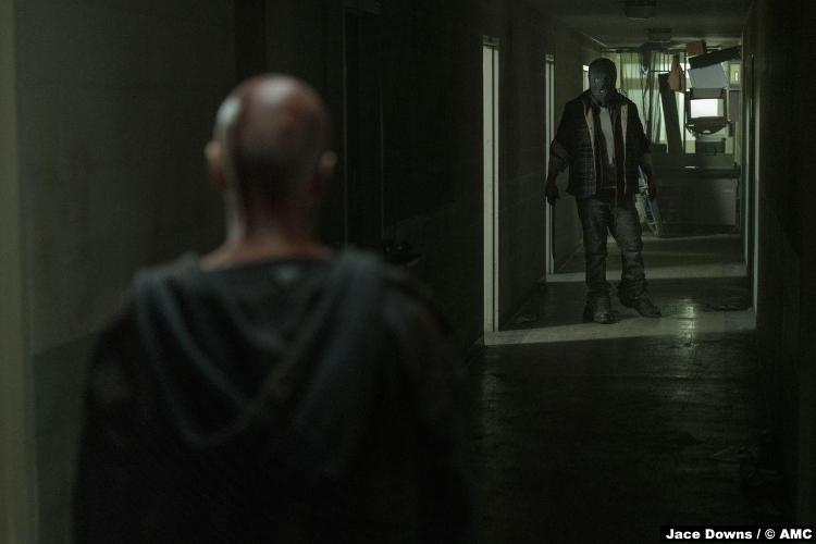 Walking Dead S10e02 Ryan Hurst Beta Samantha Morton Alpha