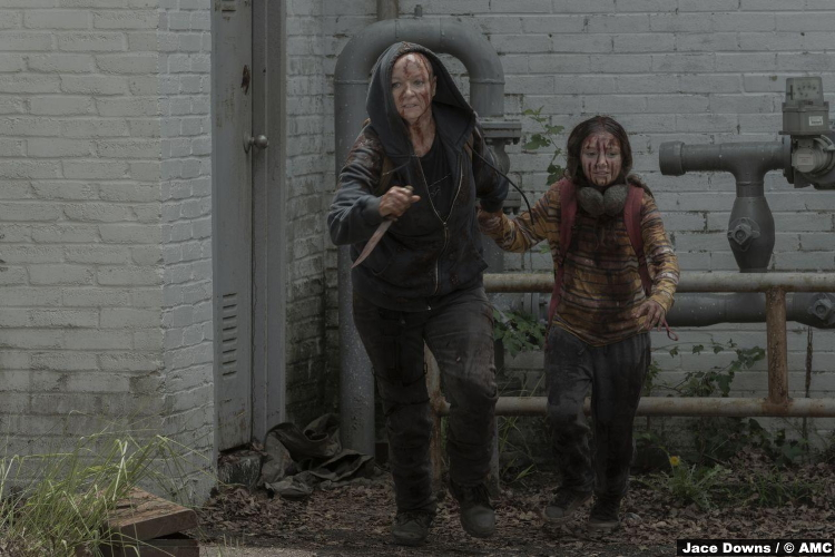 Walking Dead S10e02 Samantha Morton Alpha Havana Blum Young Lydia
