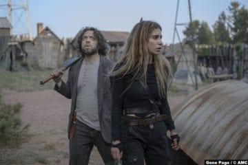 Walking Dead S10e04 Dan Fogler Luke Nadia Hilker Magna