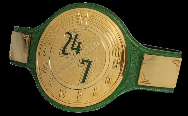 Wwe Title 24 7 Belt