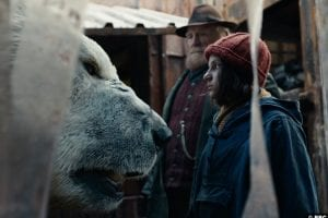 His Dark Materials S01e04 James Cosmo Farder Coram Dafne Keen Lyra Belacqua Joe Tandberg Lorek Byrnison